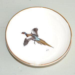 Collectors Pheasant Dish