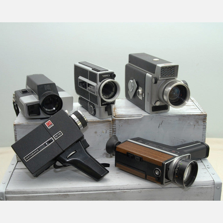8mm Movie Cameras Set Of 5 I