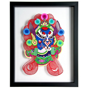 Chinese Opera Mask Large I