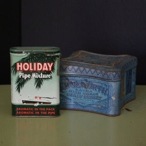 Holiday And Edgeworth Tins