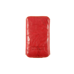 Crinkled Phone Case Red
