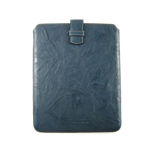 Crinkled iPad Case Blue