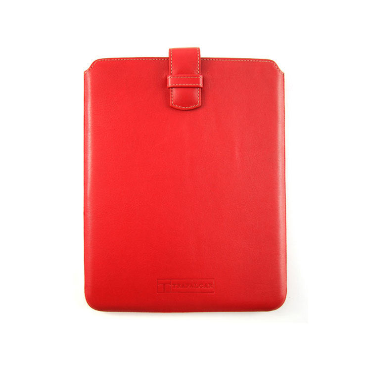Smooth iPad Case Red