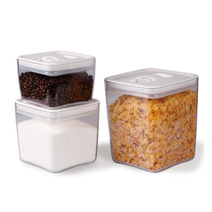 Cube Canister Set Large White