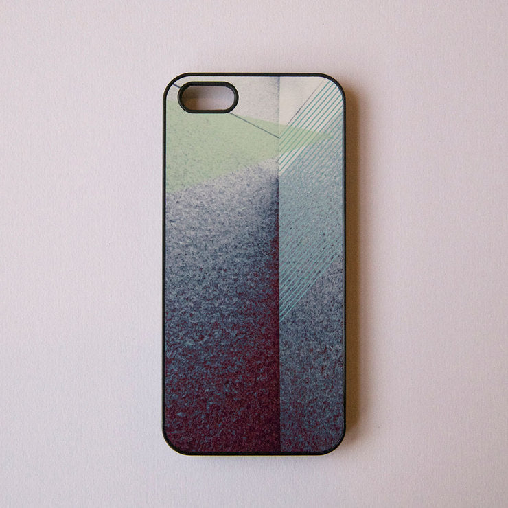 iPhone 5 Case Triangle On Noir
