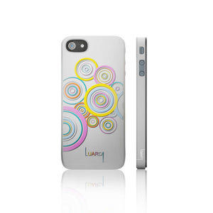 iPhone 5 Cover Circles White