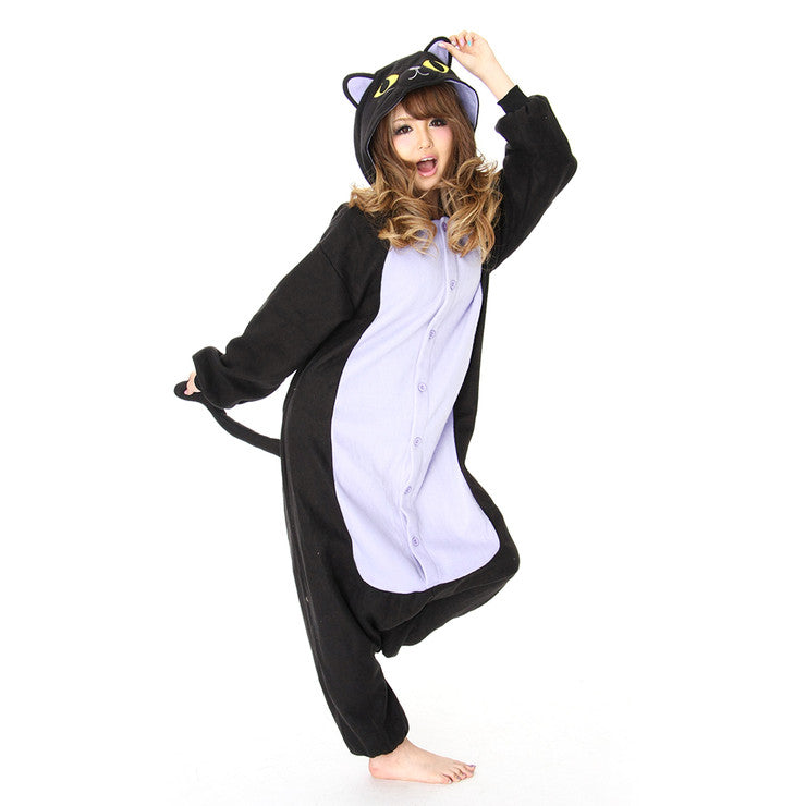 Halloween Black Cat Kigurumi