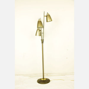 3 Tiered Lamp Gold