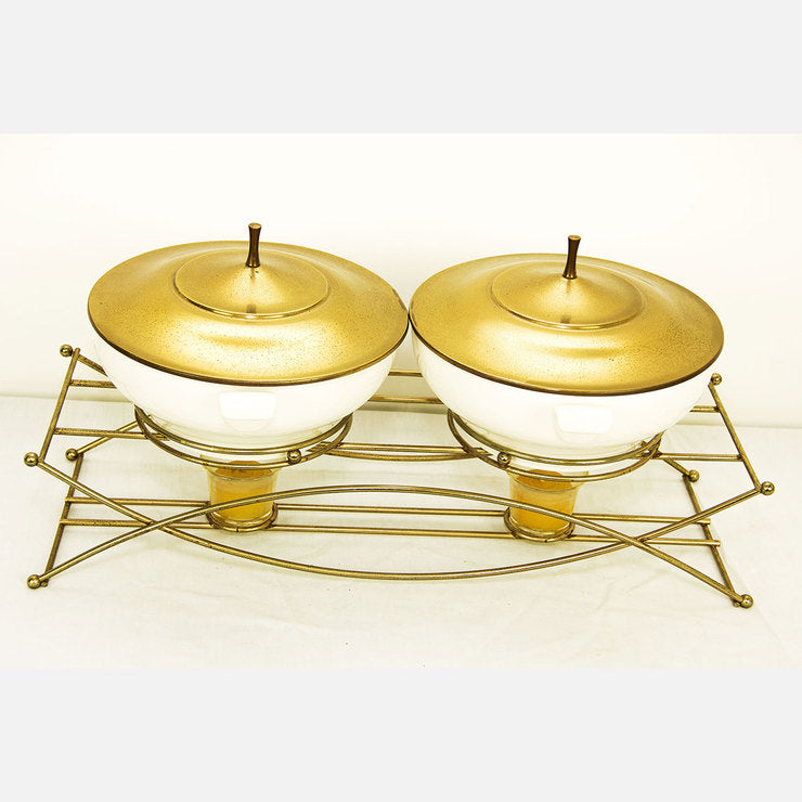 Atomic Double Serving Dish