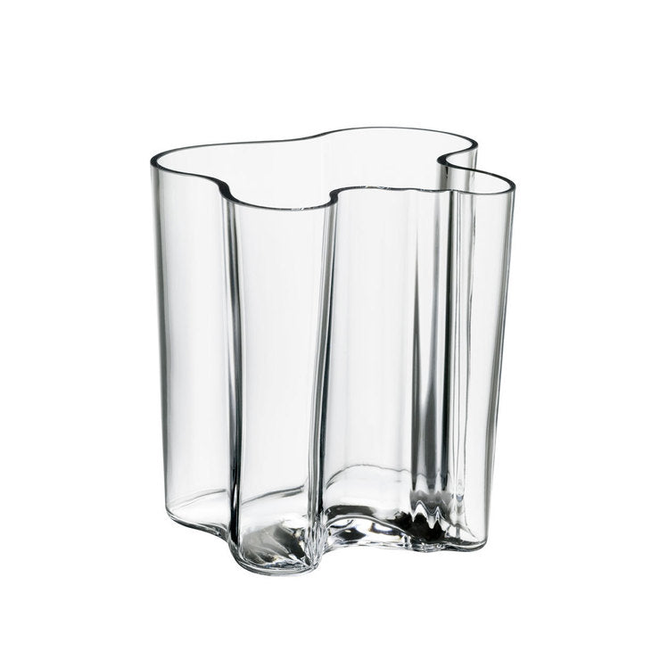Aalto Vase 7.8\ Clear""