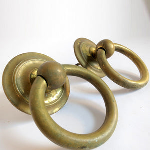 Brass Ring Handles