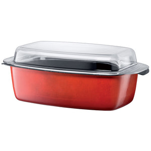 Gourmet Roasting Pan Red