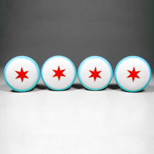 Chicago Magnets Set Of 4