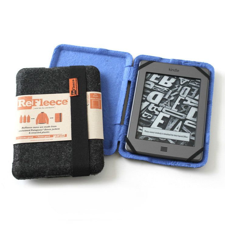 Small Kindle Sleeve Blue