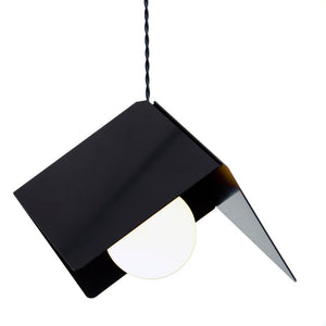 Cubist Lamp Black