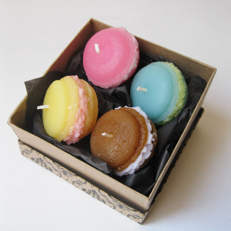 Macaron Craze Candles Set Of 8