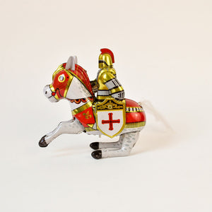 Knight Wind Up Tin Toy