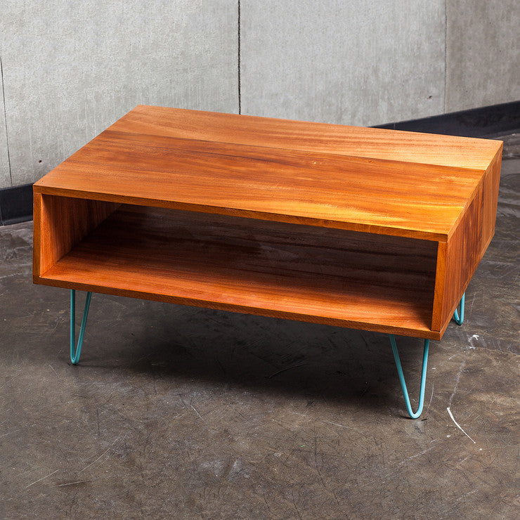 Coffee Table 5Ë_ Mahogany Teal