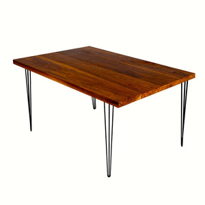Ansley Dining Table Small Walnut