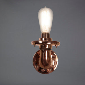 Copper Plated Simple Sconce