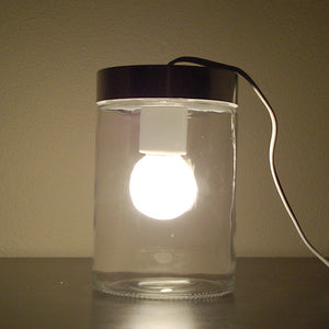 Glass Tube Lamp Small