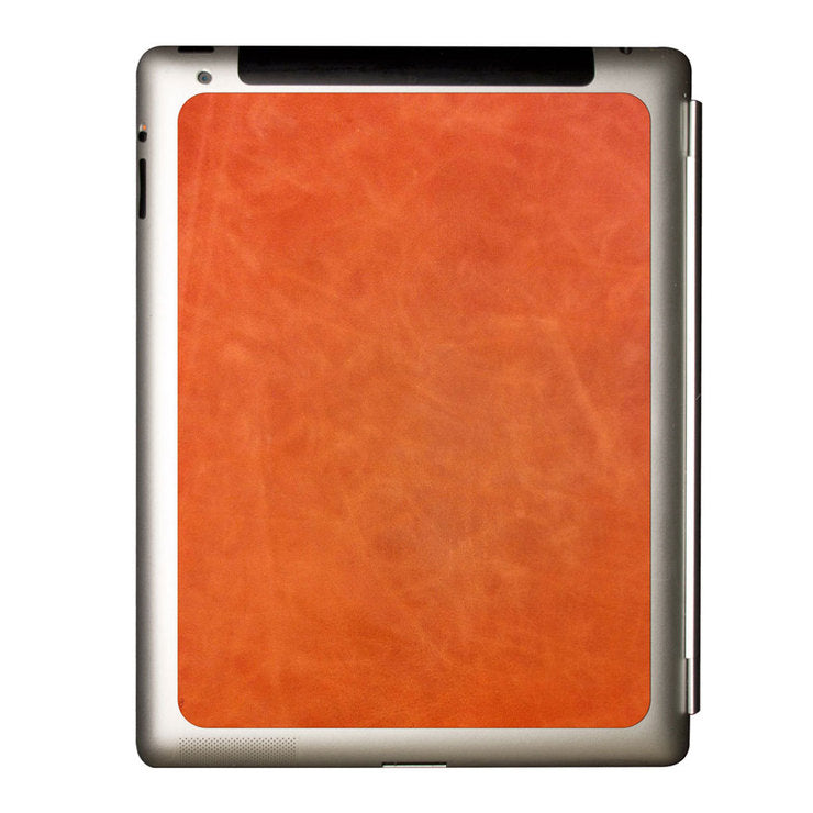 iPad 2/3 Partial Leather Brandy