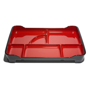 Lacquered Bento Tray Red