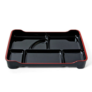 Lacquered Bento Tray Black