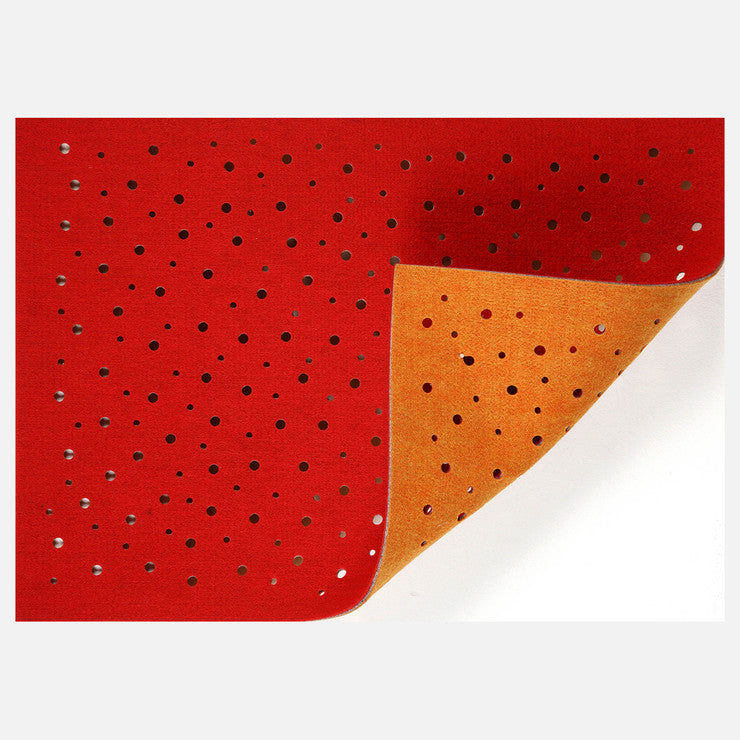 Holes Placemat Flame 4 Pack