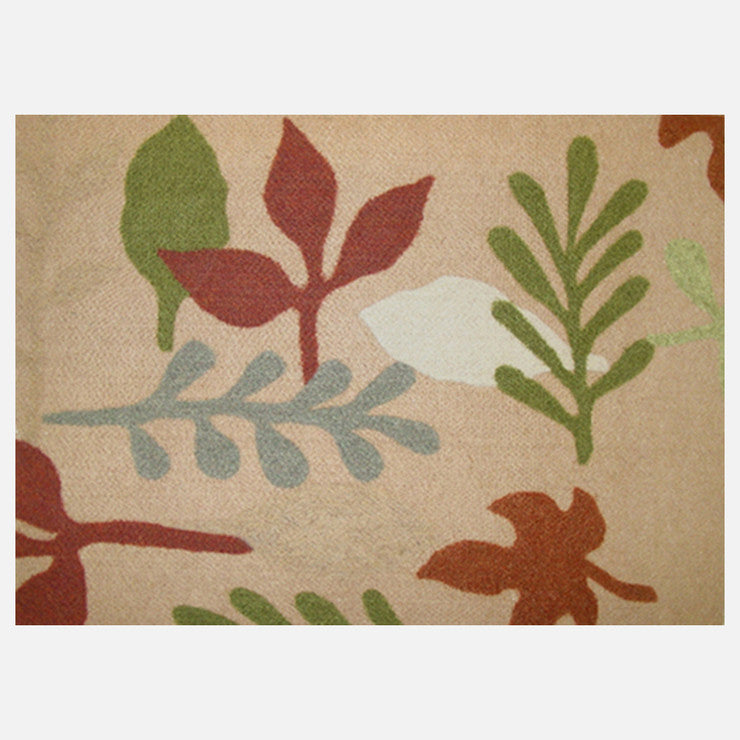 Leaf Placemat Wheat 4 Pack