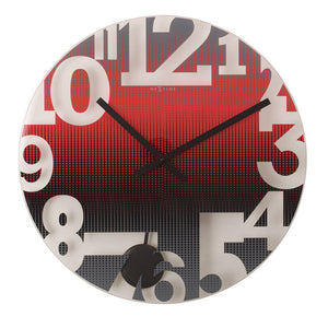 Brent Pendulum Clock Red