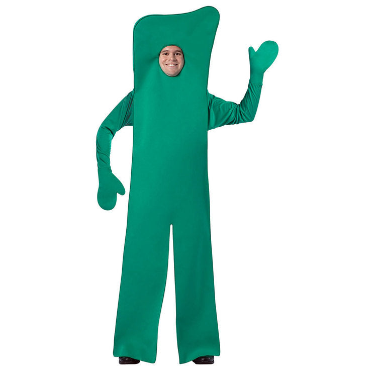 Gumby Open Face Costume