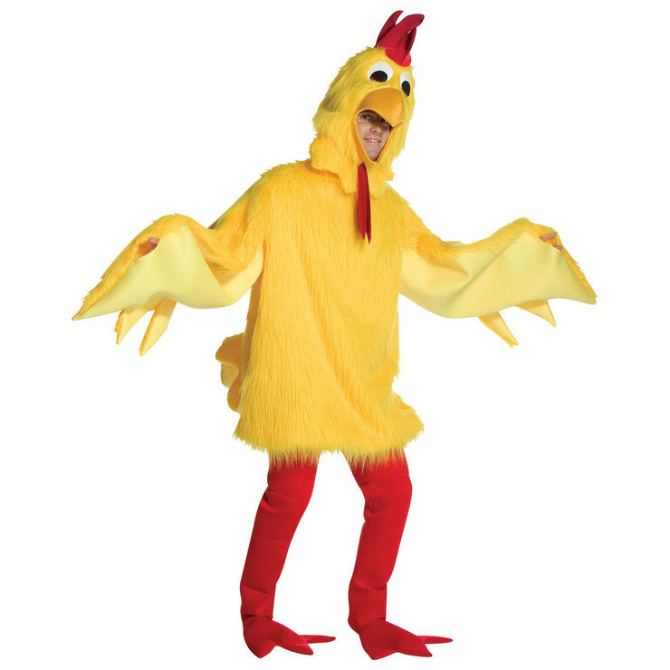 Fuzzy Chicken Costume