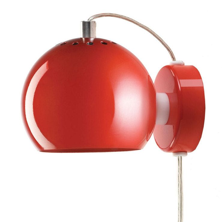 Ball Magnet Wall Lamp Red