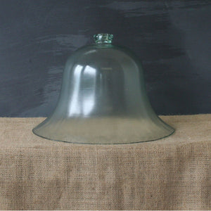 Large Glass Bell Cloche