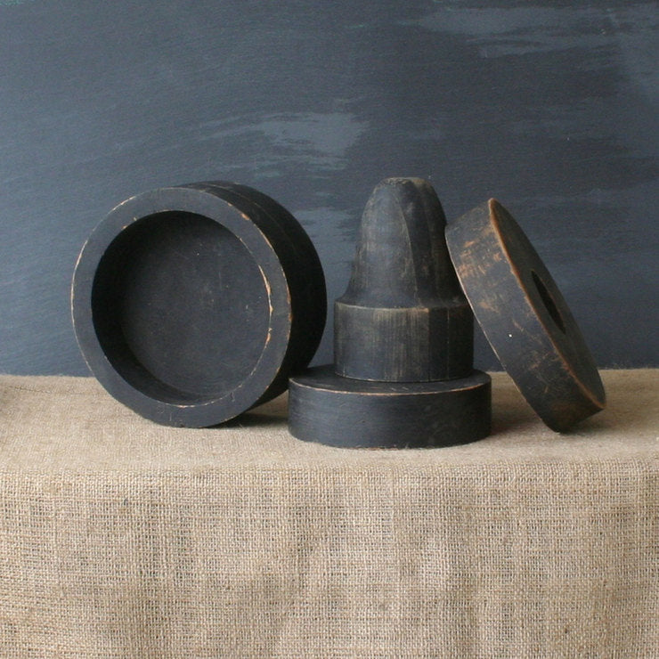 Wood Foundry Molds Set Of 4