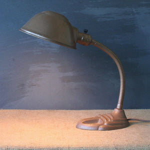 Gooseneck Lamp Brown I