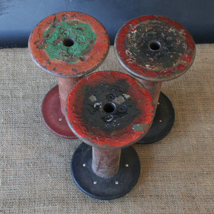 Industrial Thread Spools III