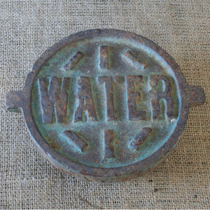 Industrial Water Main Cap V