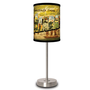 Alabama Postcard Lamp