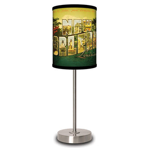 New Orleans Postcard Lamp