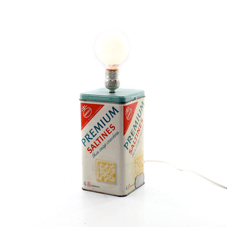 Cracker Tin Lamp