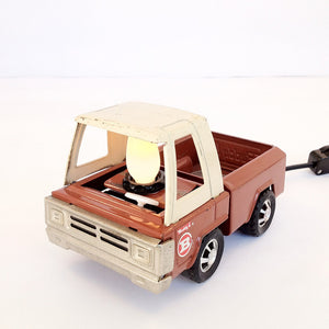 Toy Truck Night Light Brown