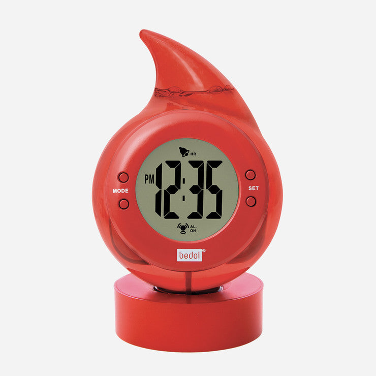 Bedol Water Clock Drop Red