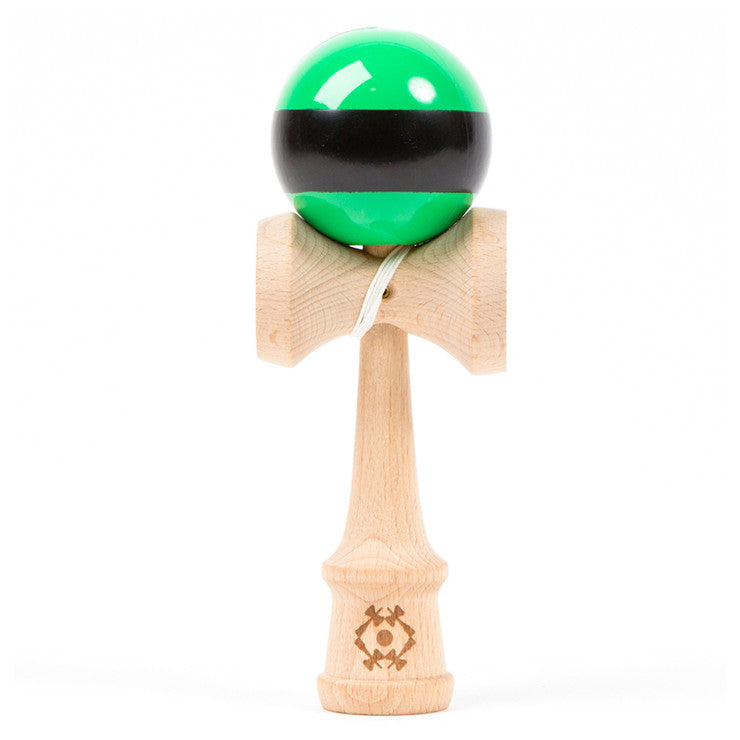 Kendama Green Black