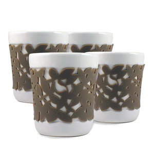 Daily Fix Ceramic Cup Taupe 4 Pk