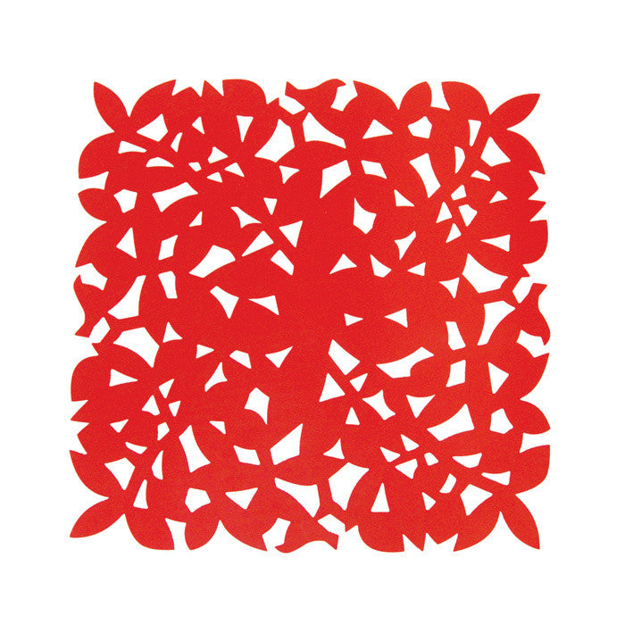Gorgeous Placemat Red 4 Pack