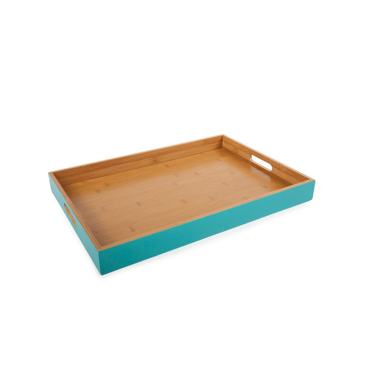 Rectangle Classic Tray Aqua