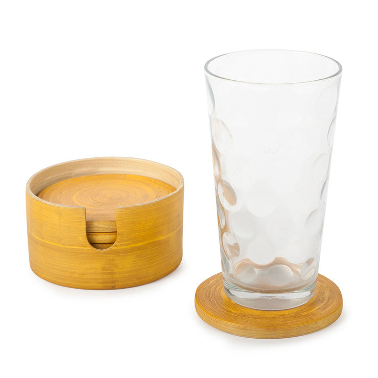 7 Piece Coaster Set Squash