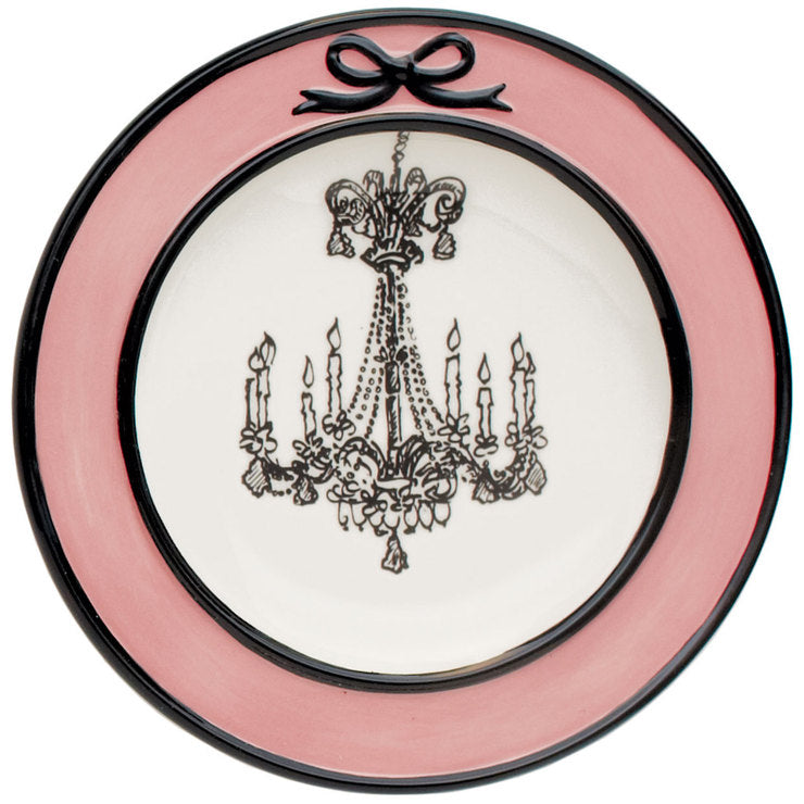 Cafe Toile Dessert Plates 4 Pack